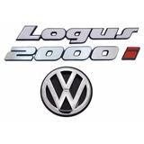 Emblemas Logus 2000i + Vw Mala - Modelo Original