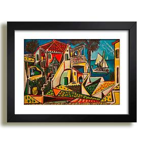 Quadro Picasso Paisagem Mediterranea Pintores Famosos Decor