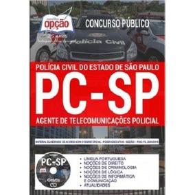 Apostila Policia Civil Sp Agente Telecomunicação Pc Sp 2018