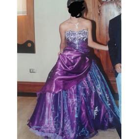 Bello Vestido Para 15 Años Talla S Confeccionado En Colombia