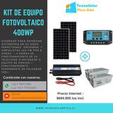 Kit Fotovoltaico 400w