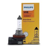 Lâmpada H16 12366c1 12v 16w Original Philips - Farol Milha