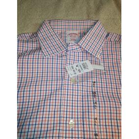 Camisa Brooks Brothers L 16.5 Nueva Con Etiquetas No Ralph