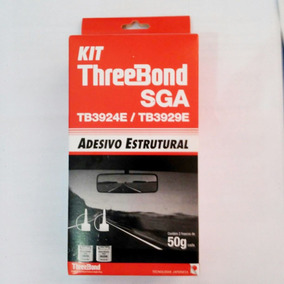 Cola P/ Retrovisor Interno Three Bond 50g 2 Componentes