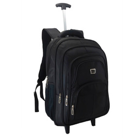 Mochila Rodinha P/ Notebook Valuable, Executiva Reforçada