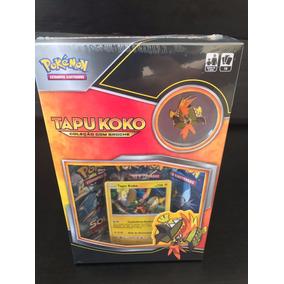 Pokemon Mini Box Tapu Koko C/ Broche