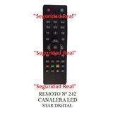 Control Remoto Canalera Led Star Digital 242 Compre Original
