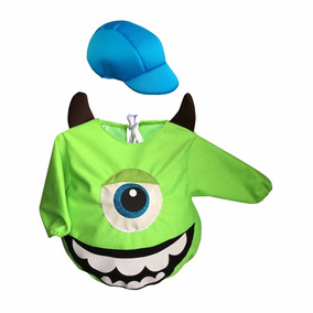 Disfraz Bebé Halloween Monstruo Mike Wazowski Monster Inc