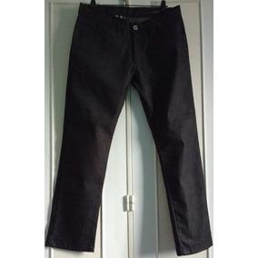 Pantalon Sport De Vestir Semi Elastizado Gris Oscuro