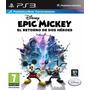 Epic Mickey 2 Ps3 | Español N° 1 En Ventas De Argentina!