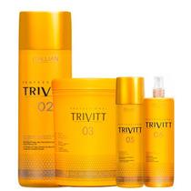 Trivitt N°2 Hidratação N°3 1 Kg Leave-in N°5 Fluído Nº6