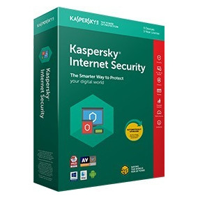 Kaspersky Internet Security 2018 Original 1pc1 Ano Direto !
