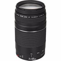 Lente Canon Ef 75-300mm F/4-5.6 Iii Autofoco Garantia Brasil