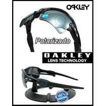 Oakley Flak 2.0 Xl Polished Black / Black Iridium Polarizado