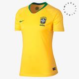 Camisa Nike Brasil Cbf I 2018/19 Torcedora 893945-749