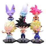 Muñecos Gashapon Dragon Ball Super Bardock/goku/wiss/bills