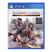 Jogo Ps4 Terra Media Sombras Da Guerra Definitive Edition