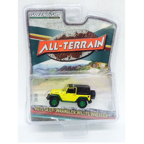 Jeep Wrangler Willys All Terrain 1:64 Greenlight Chase