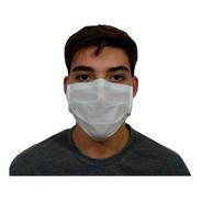 Máscara Tnt Descartável Tripla Protecao Arame Nasal 100 Und