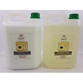 Kit Shampoo + Condicionador Onix Liss Salão 5 Litros Sem Sal