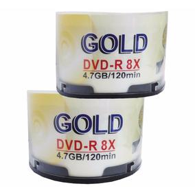 Dvd Virgen Gold 4.7 Gb 8x Paq. 100 Unidades