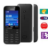 Celular Nokia 208 Asha-01chip,lacrado,desblo,anatel,3g,rádio