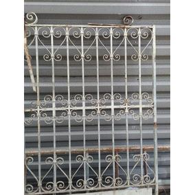Portão De Ferro Antigo Raro Modelo (sem Solda) Único A Venda
