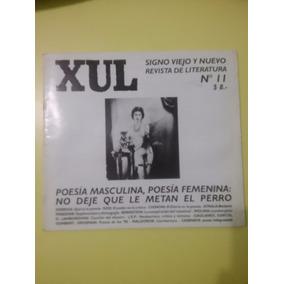 Xul Revista De Poesía N°11 Poesía Masculina, Poesía Femenina