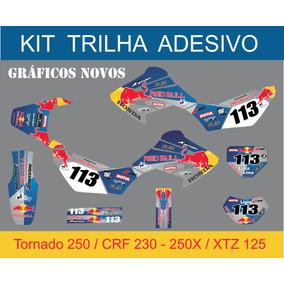Kit Trilha Adesivo 3m Tornado 250 Redbull