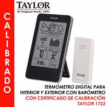 Estación Meteorológica Calibrada, Para Industria Taylor 1733