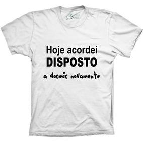 Camiseta Data Clipe Hoje Acordei - Camisetas Manga Curta para ... 5aa3a58cbbb