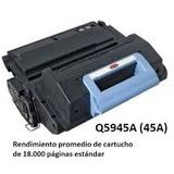 Toner Alternativo Q5945a Q5945 5945a 45a 45 M4345 4345