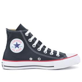 Tênis Converse All Star Ct As Core Hi Preto Vermelho Ct20631