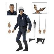 T-1000 (motorcycle Cop) Terminator 2 Ultimate Neca