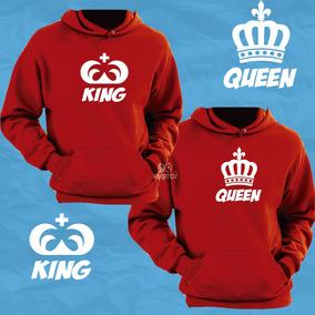 Buzos Capuchas Parejas Enamorados El Ella Rey Reina King