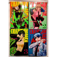 Chainsaw Man - Tomo 1 Al 4 - Manga - Ivrea