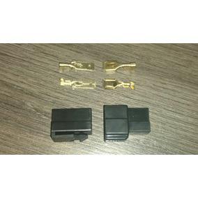 Conector Montar 2 Vias Soquete Plug Encaixe Pra Som Carro