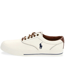 Tenis Polo Ralph Lauren Vaughn Leather - 816132960110 - H