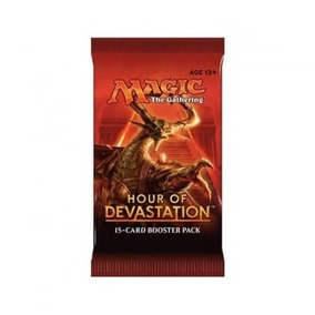 Magic: The Gathering - Hour Of Devastation Boosters Mtg Tcg