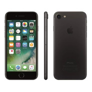 iPhone 7 Preto Matte Tela 4,7 4g 32 Gb 12 Mp Anatel/nf/novo