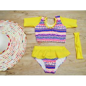 Vestido De Baño Niñas 2 Piezas Desde Talla 1 A La 5