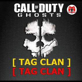 Tag Clan Vermelho E Amarelo Ghosts