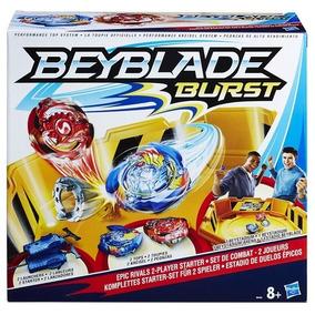 Conjunto Beyblade Kit Duelos Épicos - Hasbro