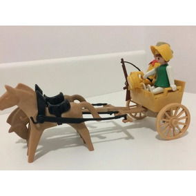 Playmobil Trol Velho Oeste - Charrete Amarela - Raríssima