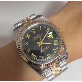 Relógio Rolex Datejust Feminino 38mm Com Pulseira Jubilau