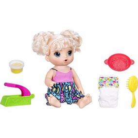 Boneca Baby Alive Adora Macarrão Loira - Hasbro #