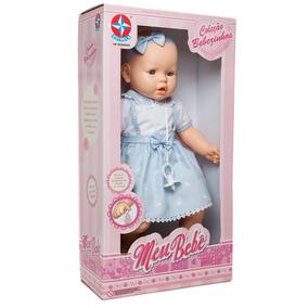 Boneca Meu Bebê Branca Coleção Bebezinhos Original - Estrela