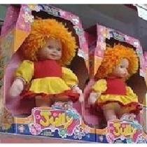 Boneca Emília Do Sítio Do Pica Pau Amarelo 45cm Boneca Jully