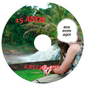 10 Mídias Virgens Dvd(4,7gb) Ou Cd + Impressao Personalizada