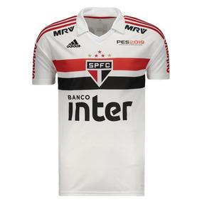 ac5258bd59 Camisa adidas São Paulo I 2018 Com Patrocínio
